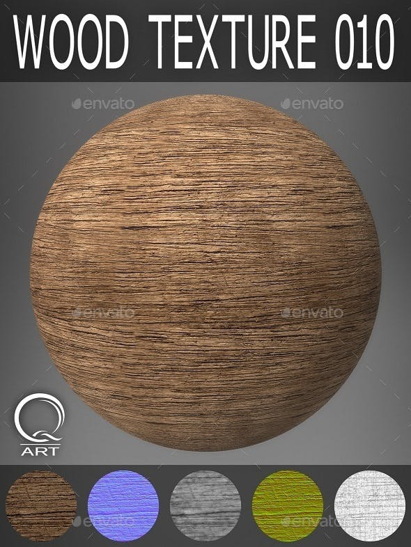 WOOD TEXTURES SET 010 - 3DOcean Item for Sale