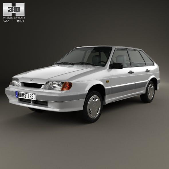 VAZ Lada Samara (2114) hatchback 5-door 1997 - 3DOcean Item for Sale