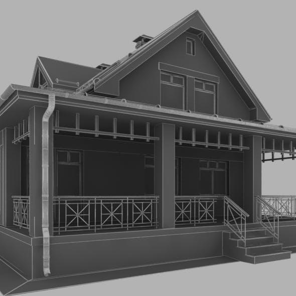 2 storey house 2-13 terrasse