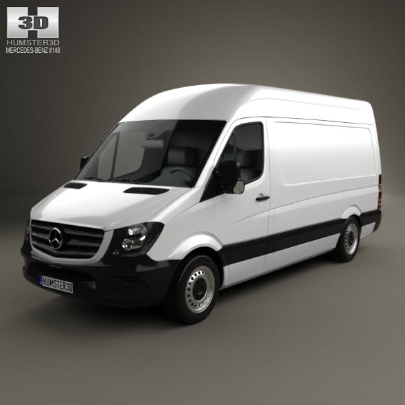 Mercedes-Benz Sprinter Panel Van SWB HR 2013