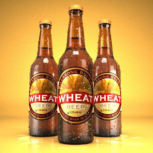 Realistic beer bottle - 3DOcean Item for Sale