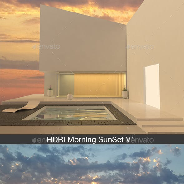 HDRI Morning SunSet V1