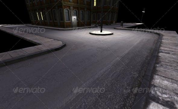 Road 3D Tileset - 3DOcean Item for Sale