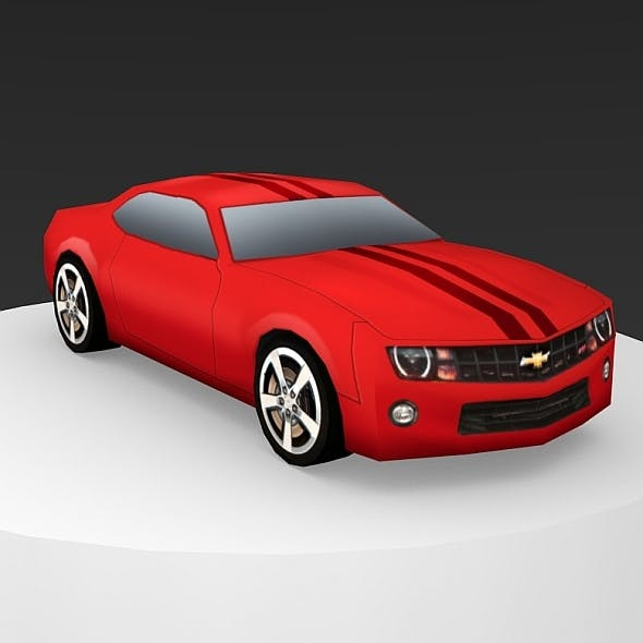 Chevrolet Camaro Low-Poly