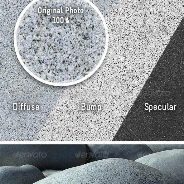 Tileable Granite Boulder