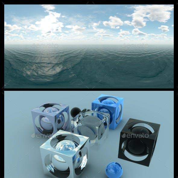 Ocean Blue Clouds - HDRI Pack
