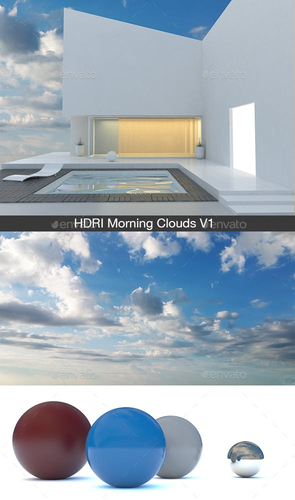 Morning Clouds V1 - 3DOcean Item for Sale