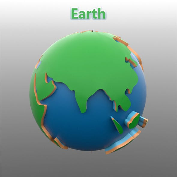 Earth - 3DOcean Item for Sale