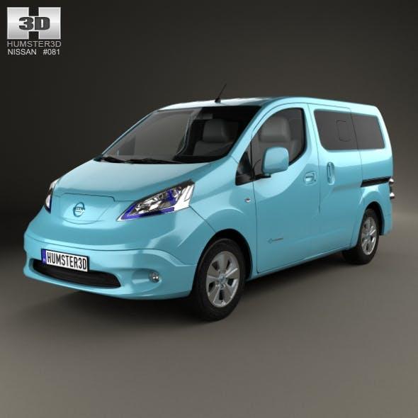 Nissan e-NV200 Evalia 2014 - 3DOcean Item for Sale