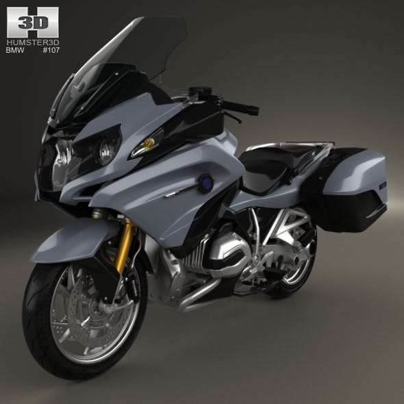BMW R1200RT 2014 - 3DOcean Item for Sale