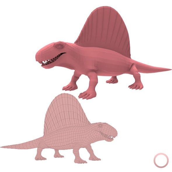 Dimetrodon Base Mesh - 3DOcean Item for Sale