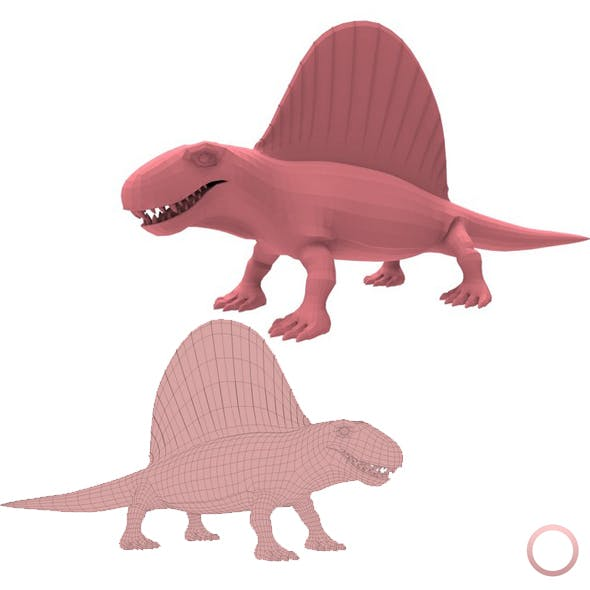 Dimetrodon Base Mesh