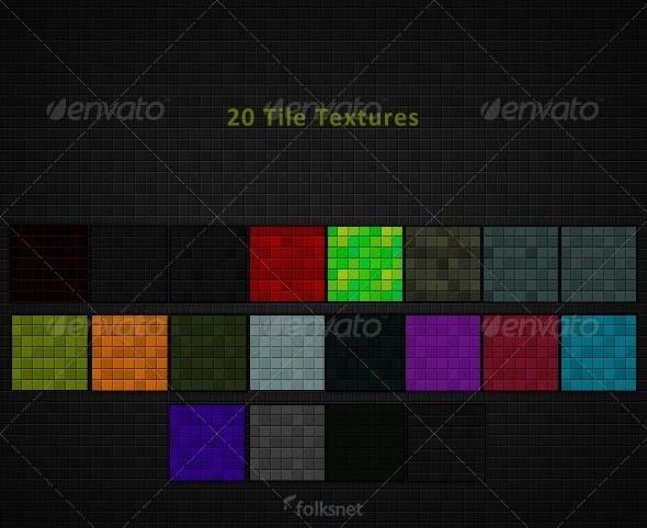 Tile Textures - 3DOcean Item for Sale