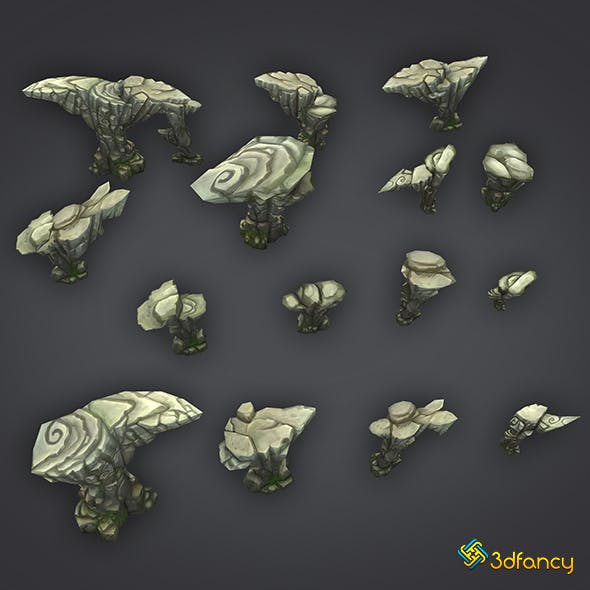 Rock Formation Pack 1