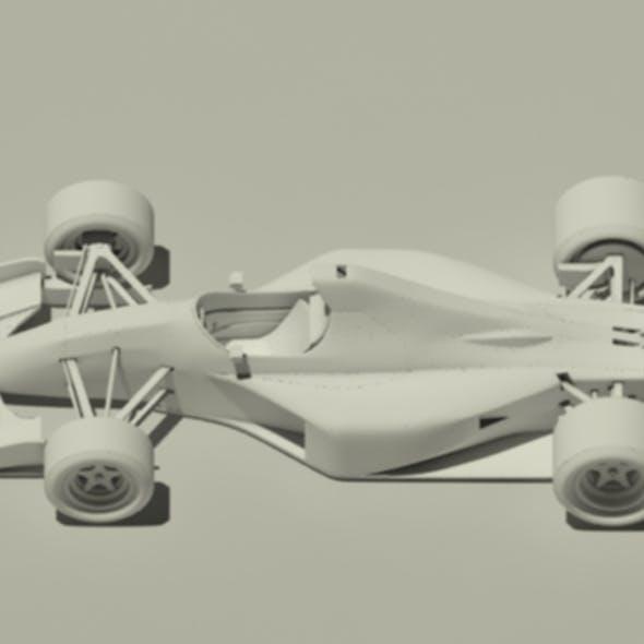 Jordan 191 Formula 1 Car