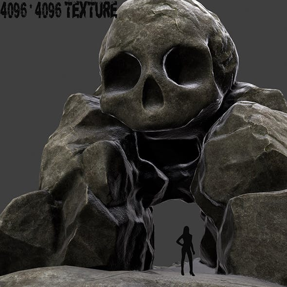skull_cave_1 - 3DOcean Item for Sale