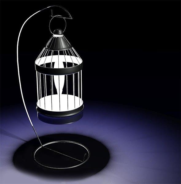 Lantern 3D Model - 3DOcean Item for Sale
