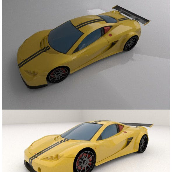 Ascari A10 sport car