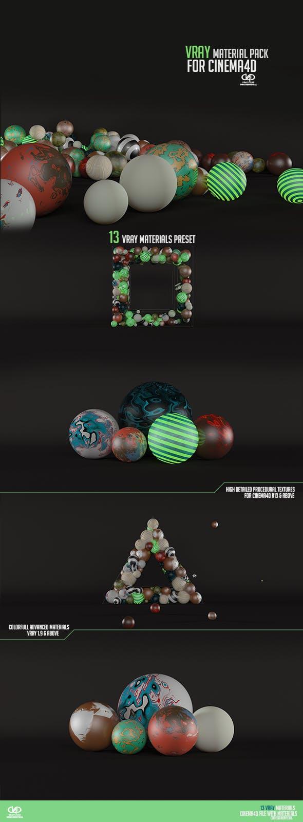 Vray Material Pack & Studio  - 3DOcean Item for Sale