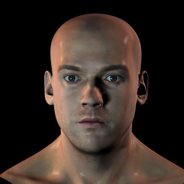 3d human head v1