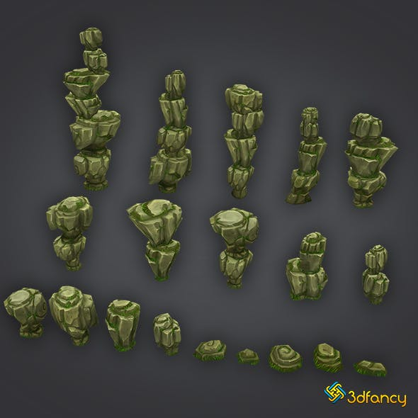 Rock Formation Pack 2