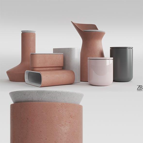 Menu DK Ceramic Pots