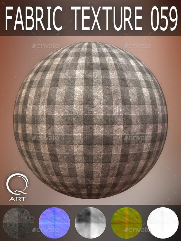 FABRIC TEXTURES SET 059 - 3DOcean Item for Sale