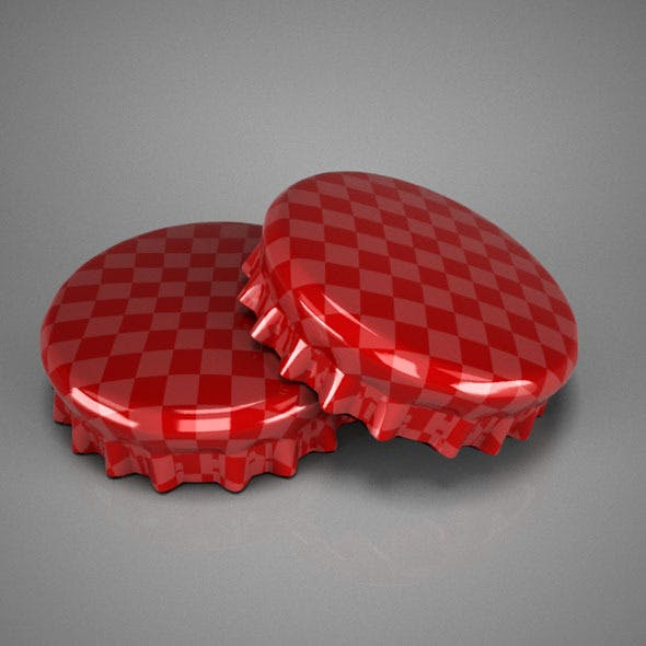 Bottle Tin Cap - 3DOcean Item for Sale