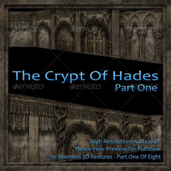 The Crypt Of Hades - Part One Of Eight - 3DOcean Item for Sale