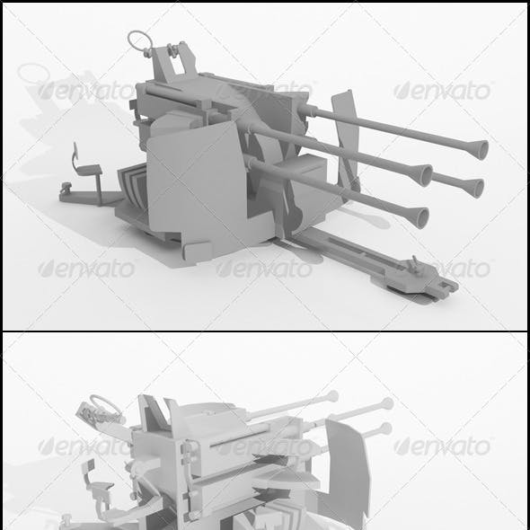 WWII Stationary Weapon