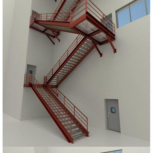 Factory's Metal Stairs package