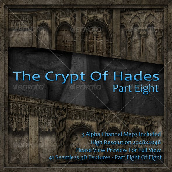 The Crypt Of Hades - Part Eight Of Eight - 3DOcean Item for Sale