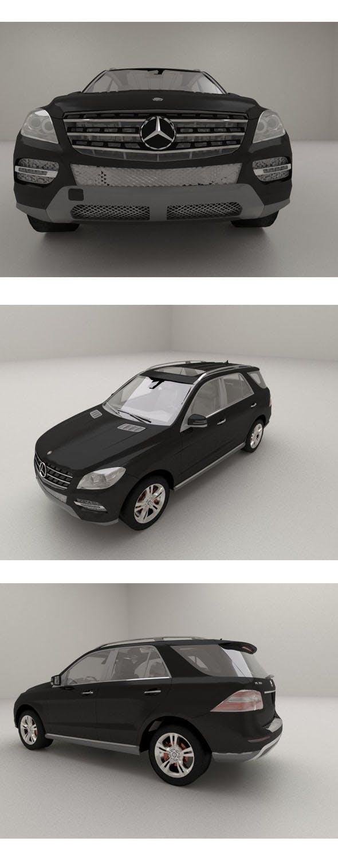 2012 Mercedes-Benz M-Class - 3DOcean Item for Sale