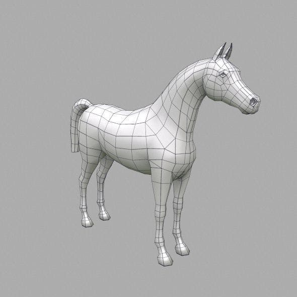 horse base mesh