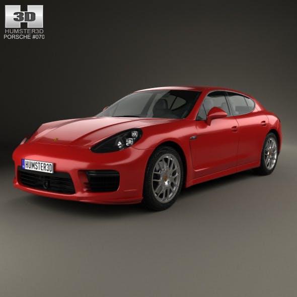 Porsche Panamera GTS 2014 - 3DOcean Item for Sale