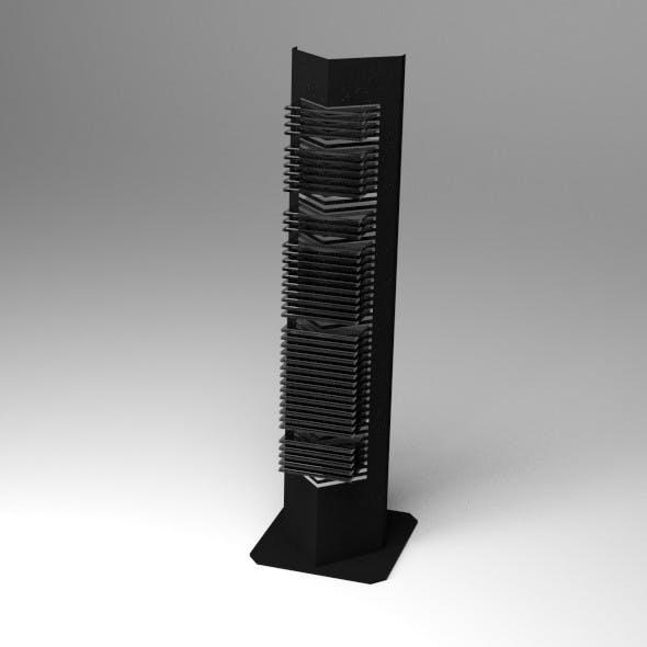 CD Rack - 3DOcean Item for Sale