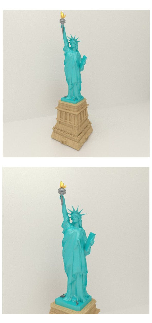 America's Liberty Statue - 3DOcean Item for Sale