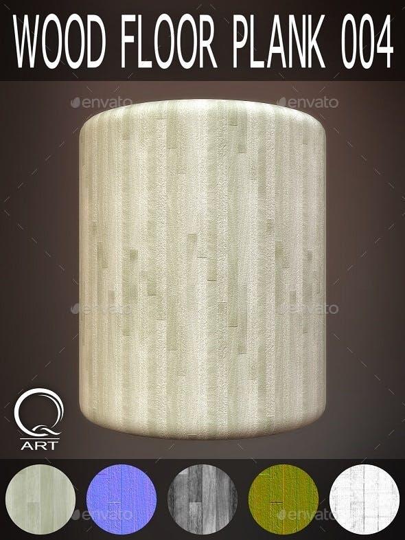 Wood Floor Plank 004 - 3DOcean Item for Sale
