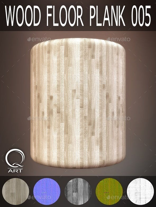 Wood Floor Plank 005 - 3DOcean Item for Sale