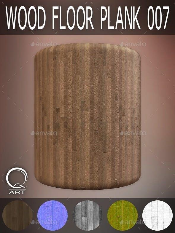 Wood Floor Plank 007 - 3DOcean Item for Sale