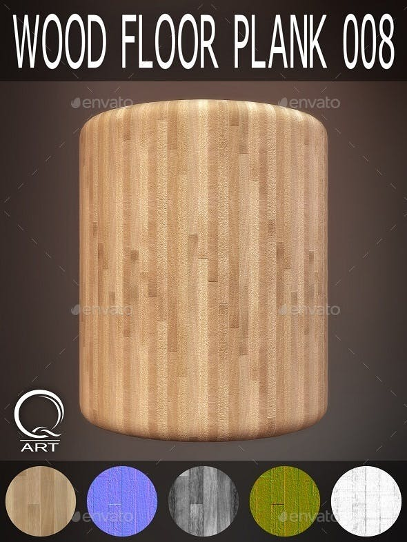 Wood Floor Plank 008 - 3DOcean Item for Sale