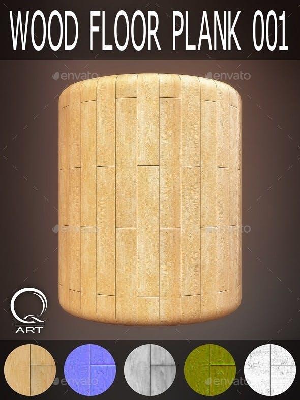 Wood Floor Plank 001 - 3DOcean Item for Sale