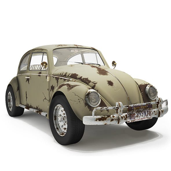 Volkswagen Bettle - Dirty