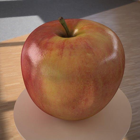 3D model apple fruit