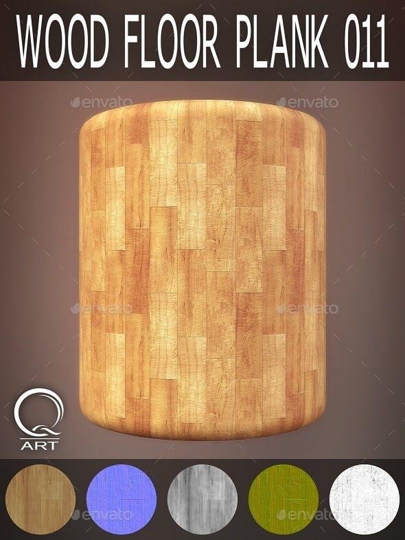Wood Floor Plank 011 - 3DOcean Item for Sale