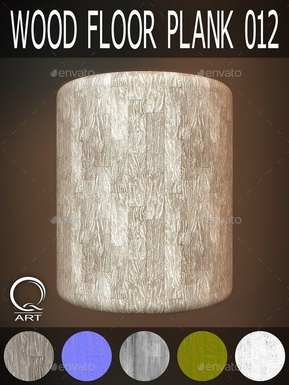 Wood Floor Plank 012 - 3DOcean Item for Sale