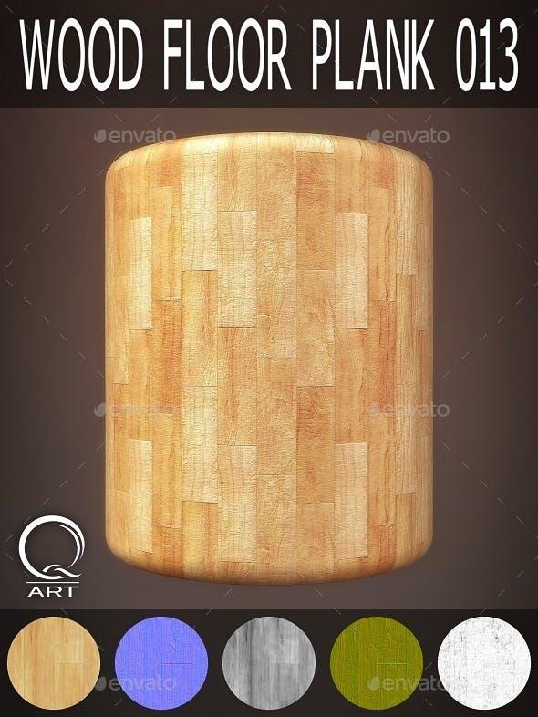 Wood Floor Plank 013 - 3DOcean Item for Sale