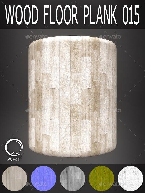 Wood Floor Plank 015 - 3DOcean Item for Sale