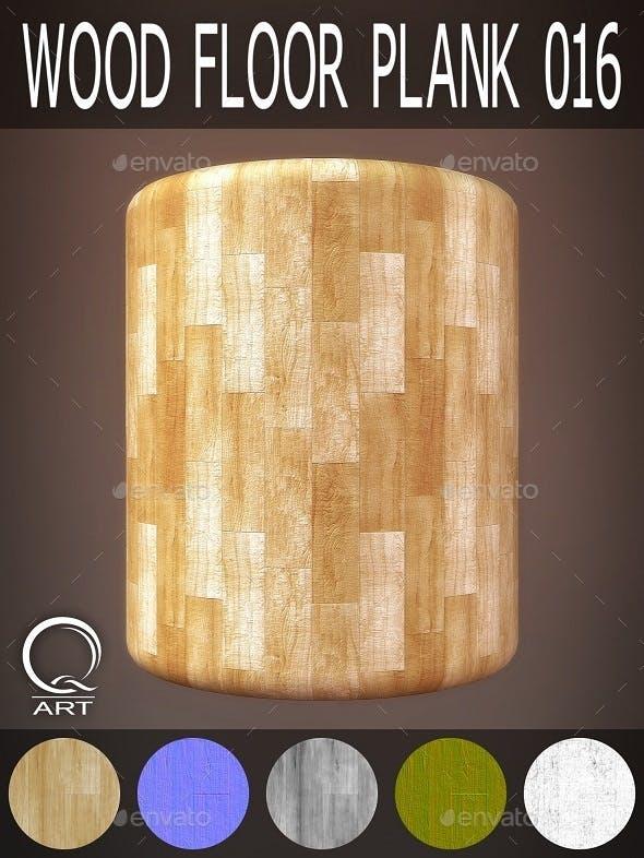 Wood Floor Plank 016 - 3DOcean Item for Sale