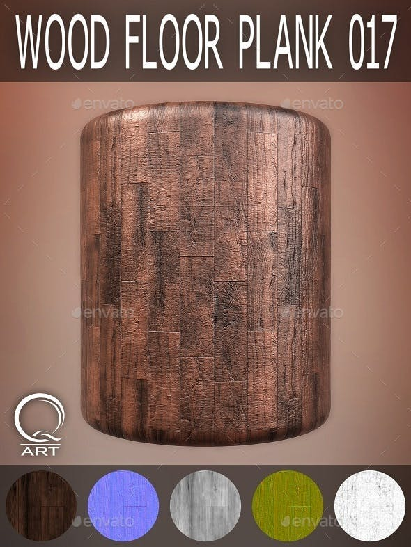 Wood Floor Plank 017 - 3DOcean Item for Sale